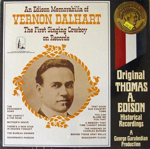 """Vernon Dalhart Vinyl 12"""""""