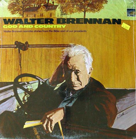 """Walter Brennan Vinyl 12"""""""