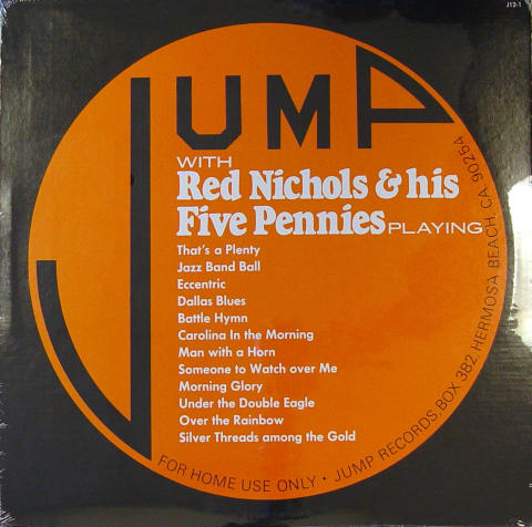 Red Nichols and His Five Pennies Vinyl 12""