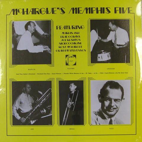 """McHargue's Memphis Five Vinyl 12"""""""