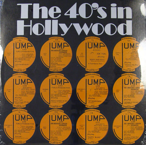 """The 40's In Hollywood Vinyl 12"""""""