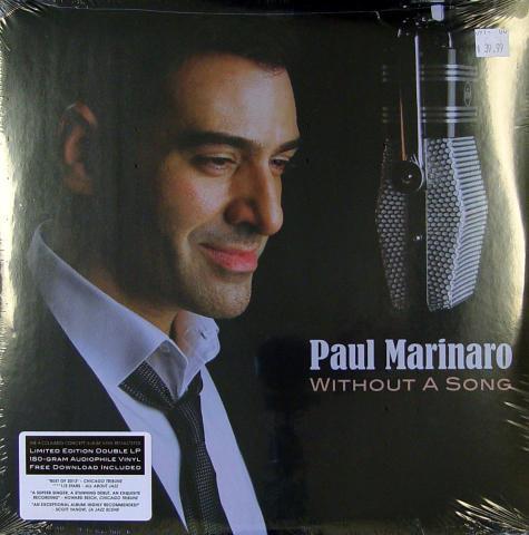 "Paul Marinaro Vinyl 12"""