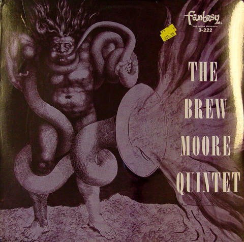 "The Brew Moore Quintet Vinyl 12"""