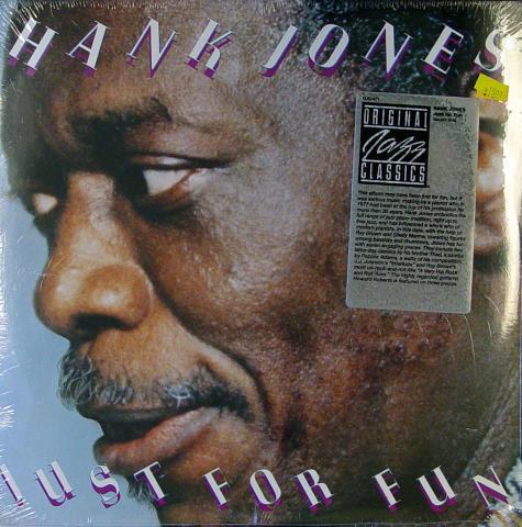 """Hank Jones Vinyl 12"""""""