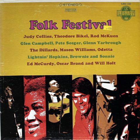 """Folk Festival Vinyl 12"""""""