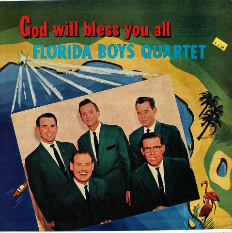 """Florida Boys Quartet Vinyl 12"""""""