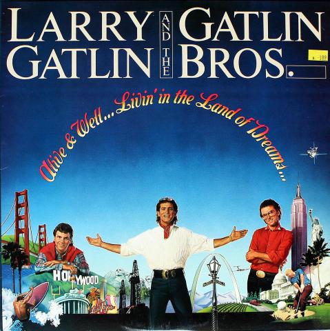 """Larry Gatlin Vinyl 12"""""""