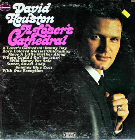 """David Houston Vinyl 12"""""""