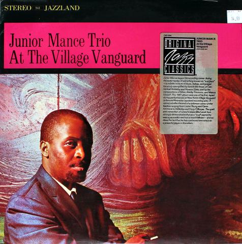 """Junior Mance Trio Vinyl 12"""""""