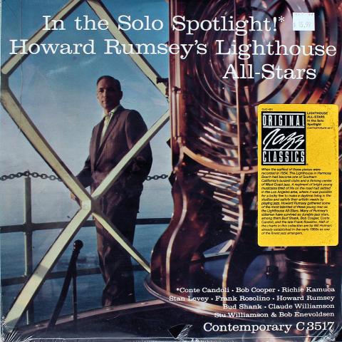 """Howard Rumsey's Lighthouse All-Stars Vinyl 12"""""""