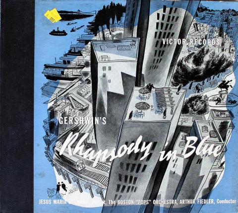 """George Gershwin Vinyl 12"""""""