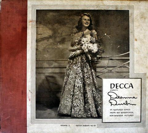 """Deanna Durbin Vinyl 12"""""""