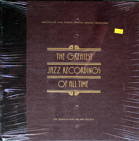 """The Greatest Jazz Recordings Of All Time Vinyl 12"""""""