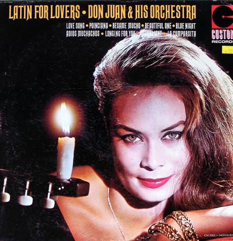 """Don Juan & His Orchestra Vinyl 12"""""""