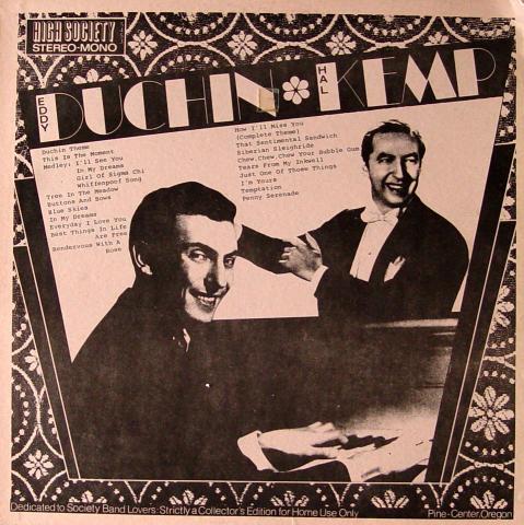 """Eddy Duchin / Hal Kemp Vinyl 12"""""""