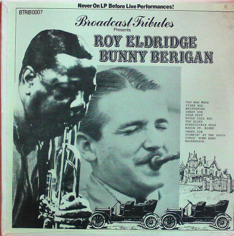 """Roy Eldridge / Bunny Berigan Vinyl 12"""""""