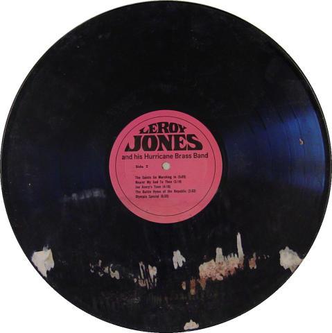 "Leroy Jones, Jr. Vinyl 12"""