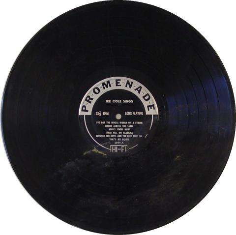 "Ike Cole Vinyl 12"""