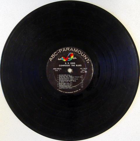 "B.B. King Vinyl 12"""