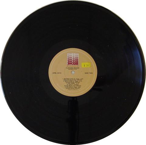 "Clifford Brown Vinyl 12"""