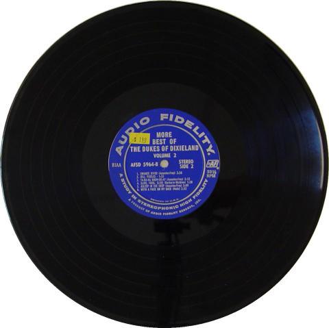 """The Dukes of Dixieland Vinyl 12"""""""