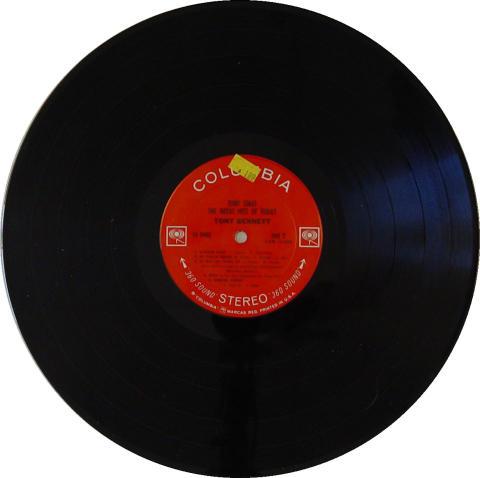 "Tony Bennett Vinyl 12"""