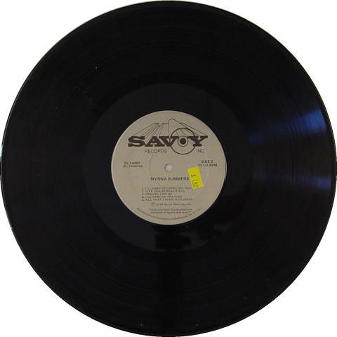 """Myrna Summers Vinyl 12"""""""
