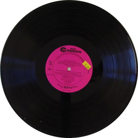 "Tony Pastor Vinyl 12"""