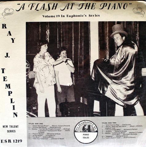 "Ray J. Templin Vinyl 12"""