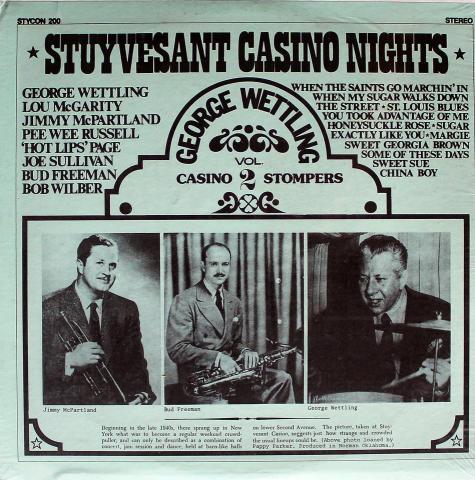 "Stuyvesant Casino Nights Vol. 2 Vinyl 12"""