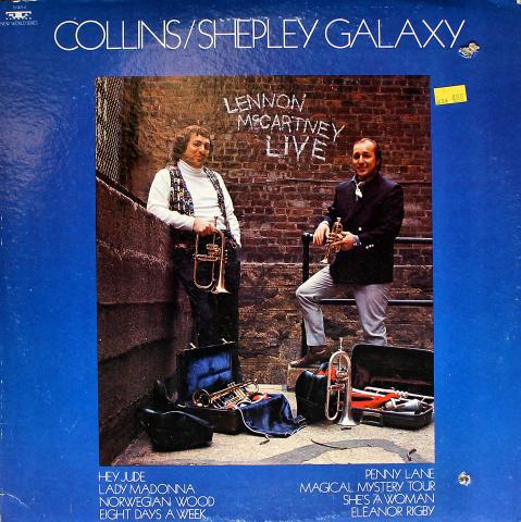 """Collins/Shepley Galaxy Vinyl 12"""""""