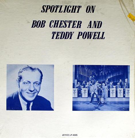 """Bob Chester And Teddy Powell Vinyl 12"""""""