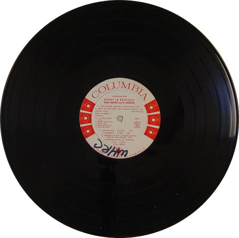 "Benny Goodman and His Orchestra Vinyl 12"""