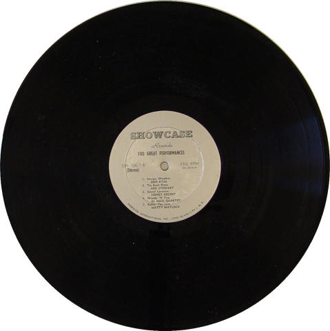 "Ralph Burns Vinyl 12"""