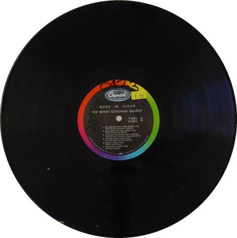 """The Benny Goodman Quartet Vinyl 12"""""""