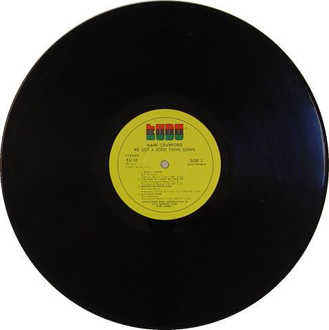 "Hank Crawford Vinyl 12"""