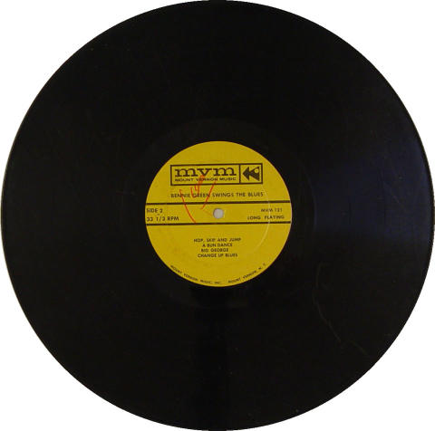"""Bennie Green Vinyl 12"""""""