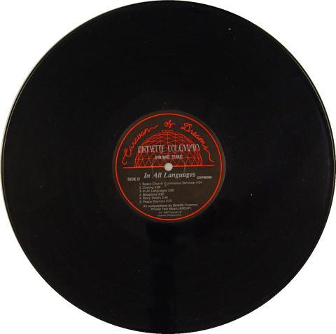 "Ornette Coleman Vinyl 12"""