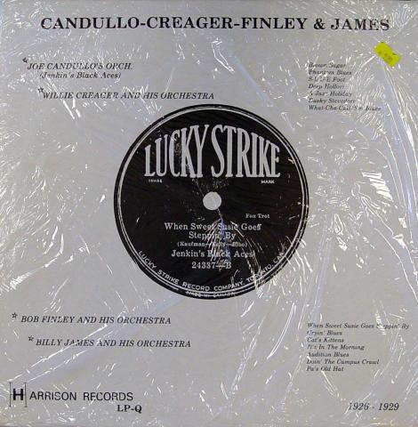 """Candullo-Creager-Finley & James: 1926-1929 Vinyl 12"""""""