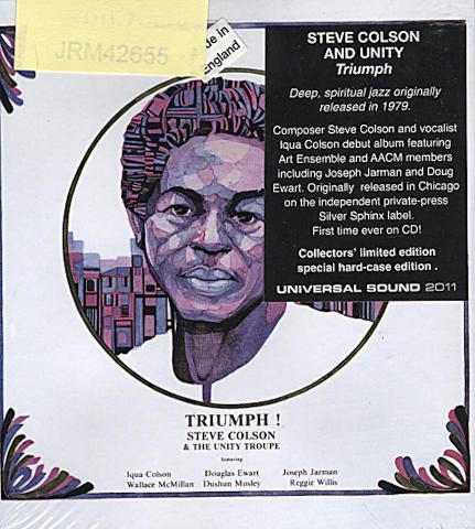 Steve Colson & The Unity Troupe CD