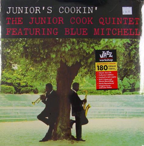 """The Junior Cook Quintet Vinyl 12"""""""