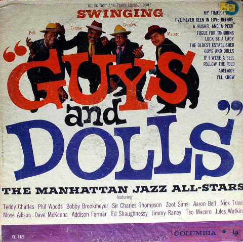 "The Manhattan Jazz All-Stars Vinyl 12"""