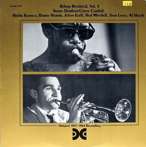 "Bebop Revisited, Vol. 5 Vinyl 12"""