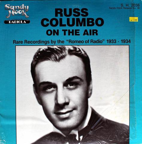 """Russ Columbo On The Air Vinyl 12"""""""