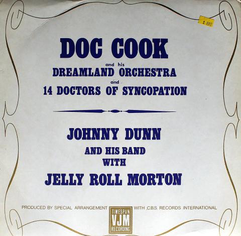 """Doc Cook / Johnny Dunn Vinyl 12"""""""