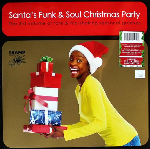 "Santa's Funk & Soul Christmas Party, Volume 3 Vinyl 12"""