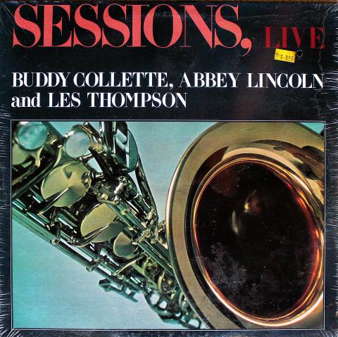 "Buddy Collette / Abbey Lincoln / Les Thompson Vinyl 12"""