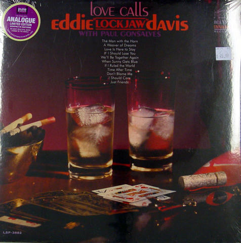 "Eddie ""Lockjaw"" Davis / Paul Gonsalves Vinyl 12"""