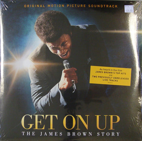 """Get On Up: The James Brown Story Vinyl 12"""""""