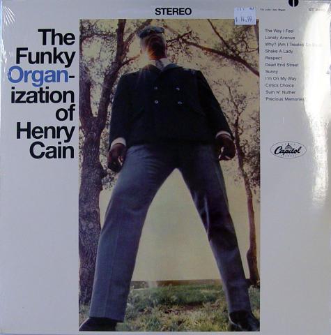 """Henry Cain Vinyl 12"""""""
